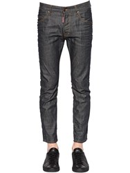 Dsquared 16Cm Skater Fit Brut Denim Jeans