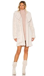 Lovers Friends Donna Coat In White. Creamy White