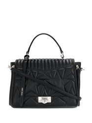 Jimmy Choo Helia Top Handle Bag Black