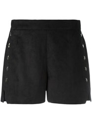 8Pm Stars Studded Shorts Black