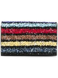 Alice Olivia Sequined Clutch