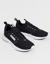 Puma Extractor Running Sneakers In Black
