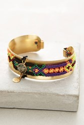 Anthropologie Zocalo Bracelet Purple