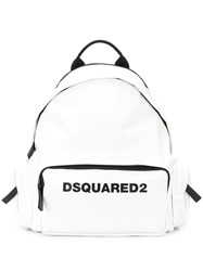 Dsquared2 Multi Pocket Logo Backpack 60