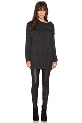 Somedays Lovin Lively Knit Sweater Charcoal
