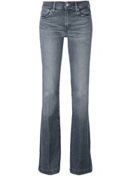 7 For All Mankind Bootcut Jeans Grey