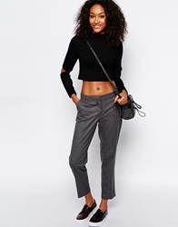Monki Tailored Trouser Grey