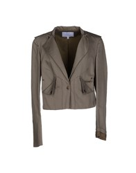 Gianfranco Ferre Gf Ferre' Suits And Jackets Blazers Women Military Green