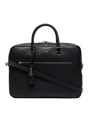 Saint Laurent Sac De Jour Souple Briefcase Bos Taurus Black