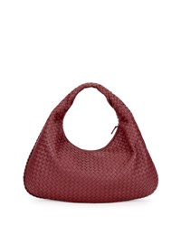 Bottega Veneta Veneta Large Intrecciato Hobo Bag Barolo