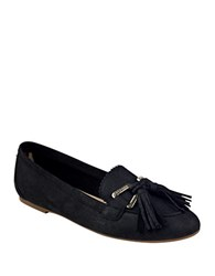 Tommy Hilfiger Hadrian Suede Loafers Black