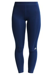 Adidas Performance Tights Mystery Blue Metallic Silver