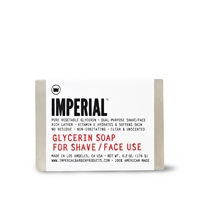 Imperial Barber Products Imperial Glycerin Shave Face Soap 6.2Oz.