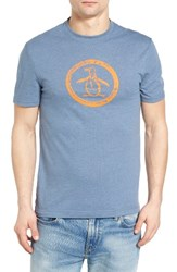 Original Penguin Men's Distressed Circle Graphic T Shirt