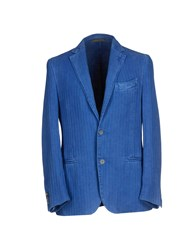 Piombo Suits And Jackets Blazers Men Azure