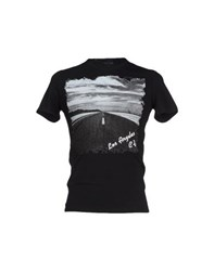 Guess By Marciano Topwear T Shirts Men Black