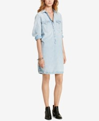 Denim And Supply Ralph Lauren Surplus Shirtdress Blue