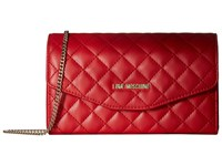 Love Moschino Quilted Evening Bag Red Handbags