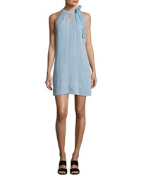 J Brand Esme Sleeveless Denim Dress Graceful Blue