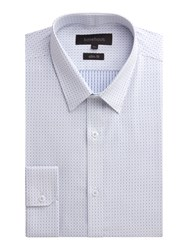 Limehaus Blue Dot Jacquard Shirt