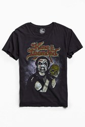 Urban Outfitters King Diamond 1989 Conspiracy Tour Tee Black