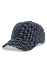 Ted Baker London Jacquard Baseball Cap Navy