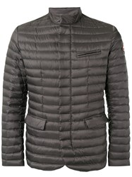 Colmar Padded Field Jacket Men Feather Down Polyester 52 Grey