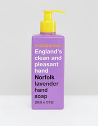 Anatomicals England's Clean And Pleasant Hand Norfolk Lavender Soap 300Ml Clear