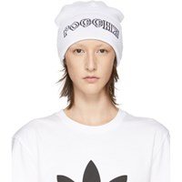 Gosha Rubchinskiy White Adidas Originals Edition Knit Beanie