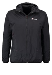 Berghaus Reversa Outdoor Jacket Jet Black Red Dahlia
