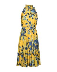 Jolie By Edward Spiers Knee Length Dresses Yellow