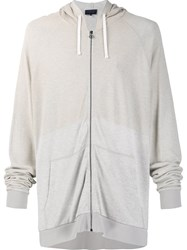 Lanvin Loose Fit Hoodie Nude And Neutrals