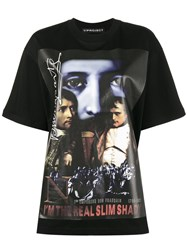 Y Project The Real Slim Shady Oversized T Shirt Cotton Xs Black