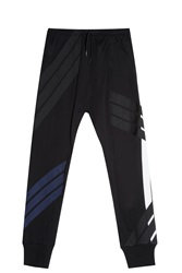 Y 3 Patchwork Track Trousers Black