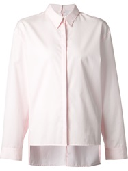 Dion Lee Back Button Fastening Shirt Pink And Purple