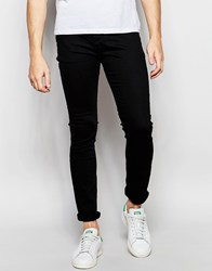 United Colors Of Benetton Black Skinny Jeans Black