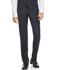 Bar Iii Charcoal Flannel Slim Fit Pants Only At Macy's