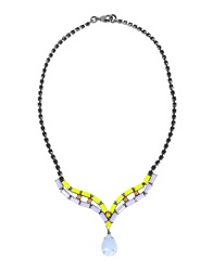 Tom Binns Necklaces Lilac