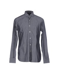 Royal Hem Shirts Grey