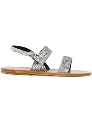 Golden Goose Deluxe Brand 'K.Jacques X Golden Goose Deluxe Brand' Sandals Metallic