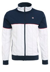 Fila Samu Tracksuit Top Peacoat Blue White