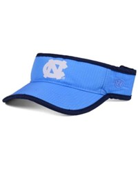Top Of The World North Carolina Tar Heels Baked Visor Lightblue