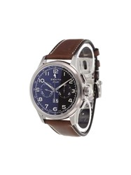 Zenith 'Pilot Big Date Special' Analog Watch Stainless Steel