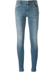 Burberry Brit Skinny Fit Jeans Blue