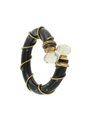 Christian Dior Vintage Rare And Collectable Poison Bracelet Black
