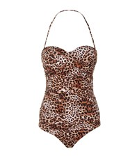 Elizabeth Hurley Beach Fortuna Bandeau Swimsuit Female