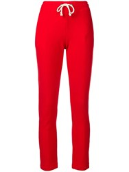 Champion Slim Fit Track Trousers Red