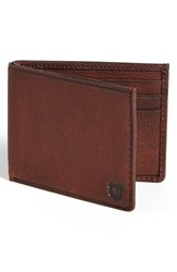 Andrew Marc New York Men's Andrew Marc 'Bowery' Wallet Metallic Cognac