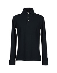 Alain Topwear Polo Shirts Men Black