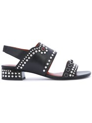 3.1 Phillip Lim Studded Mid Heel Sandals Women Calf Leather Leather 40 Black